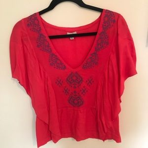 Urban Outfitters ecote flowy top